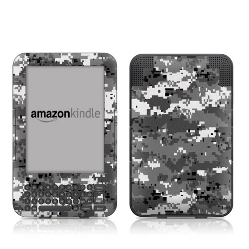 Digital Urban Camo Amazon Kindle Keyboard Skin