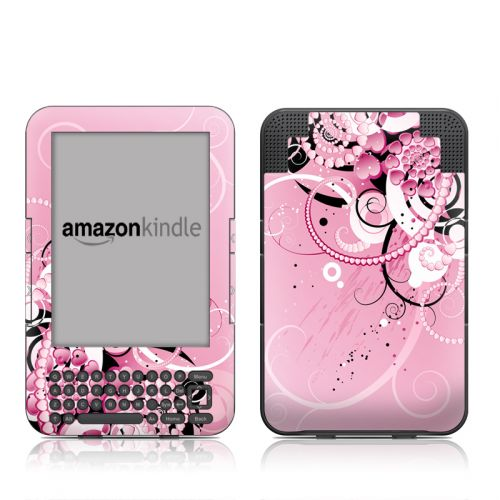 Her Abstraction Amazon Kindle 3 Skin