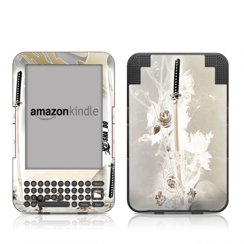 Katana Gold Amazon Kindle 3 Skin