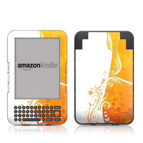 Orange Crush Amazon Kindle 3 Skin