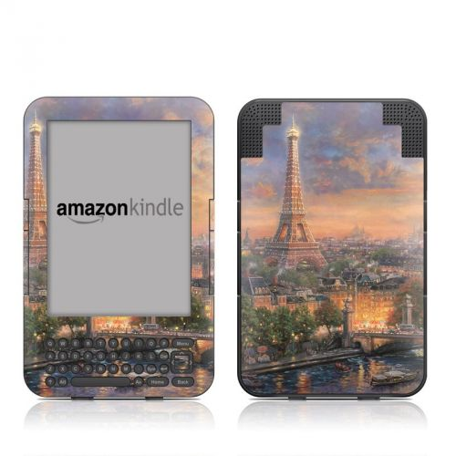 Paris City of Love Amazon Kindle Keyboard Skin