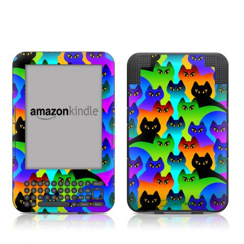 Rainbow Cats Amazon Kindle 3 Skin