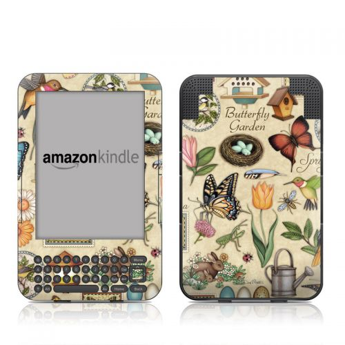Spring All Amazon Kindle 3 Skin