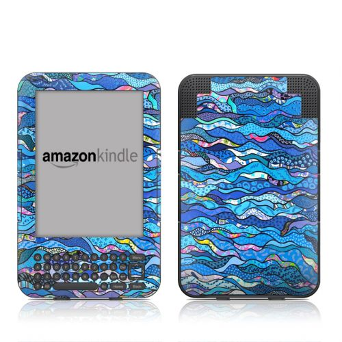 The Blues Amazon Kindle 3 Skin