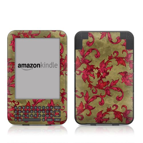 Vintage Scarlet Amazon Kindle 3 Skin