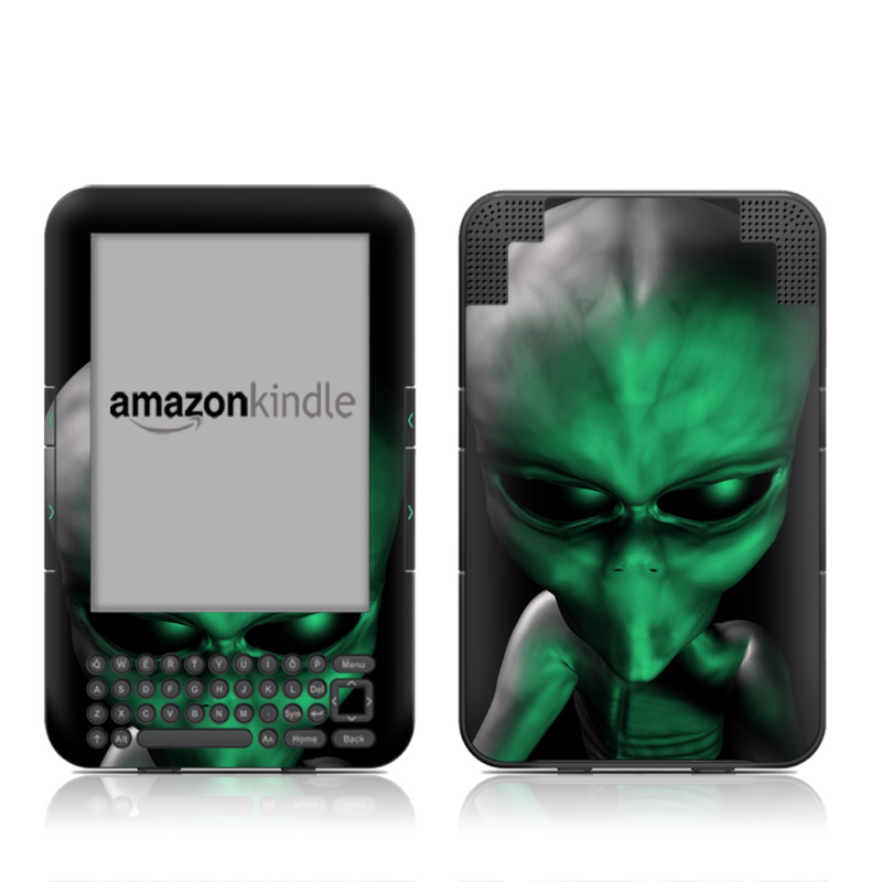 Abduction Amazon Kindle 3 Skin