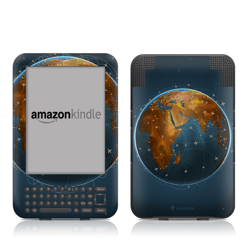 Airlines Amazon Kindle Keyboard Skin