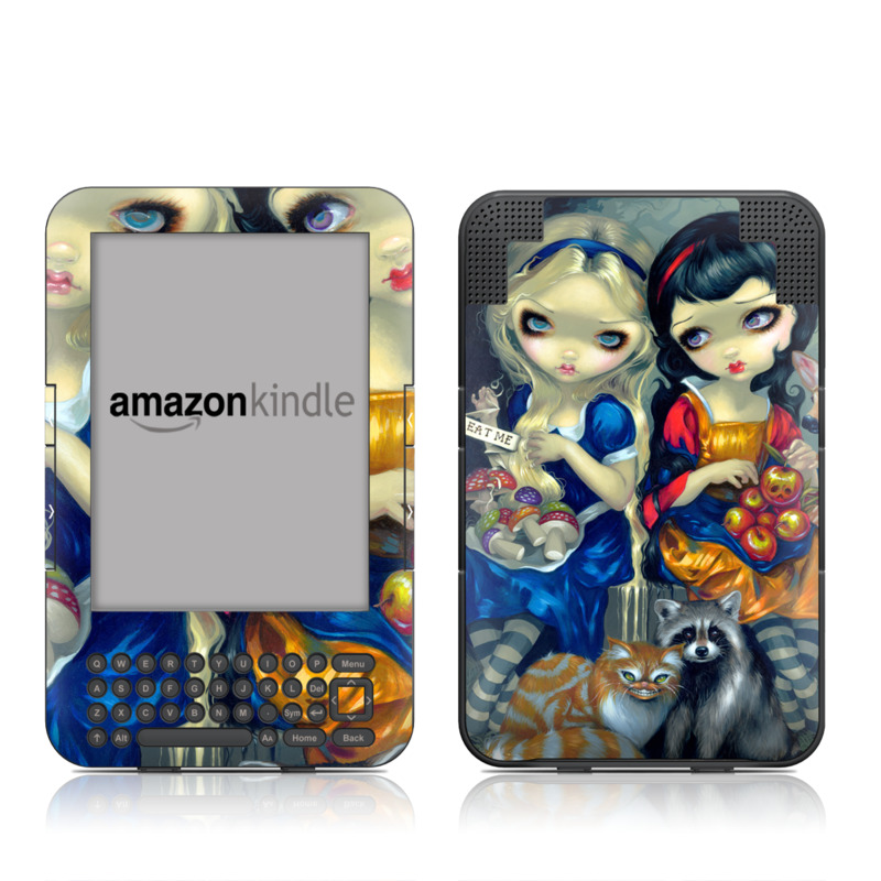 Alice & Snow White Amazon Kindle 3 Skin