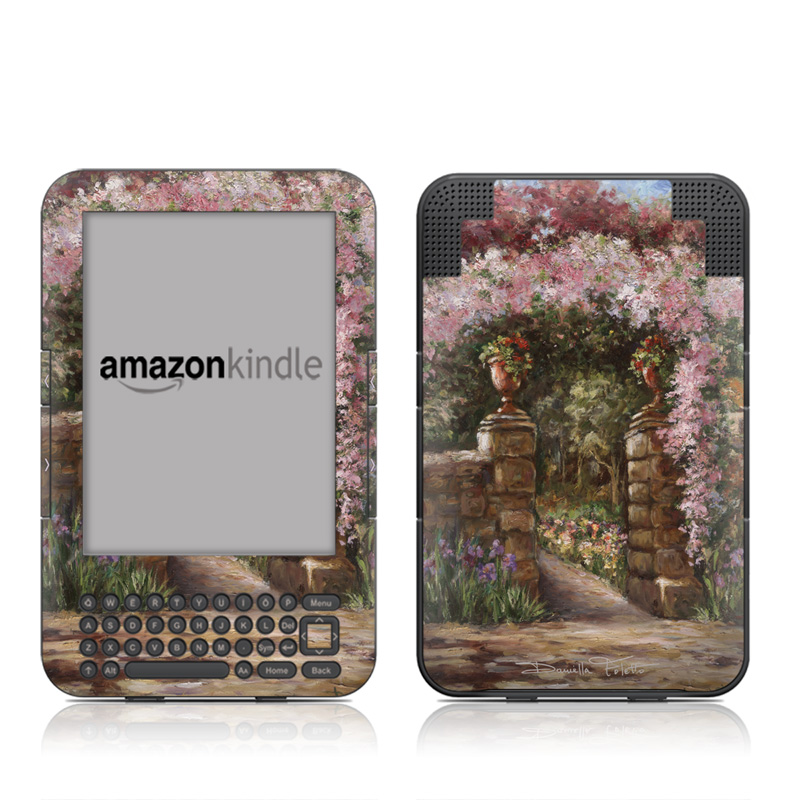 Gate At Alta Villa Amazon Kindle Keyboard Skin