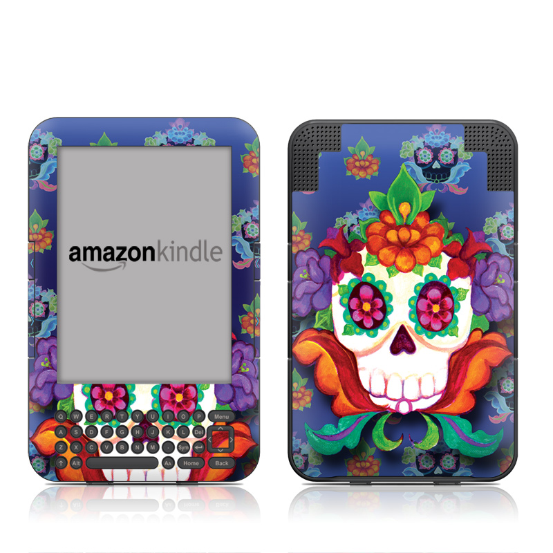 Altar Skull Amazon Kindle Keyboard Skin