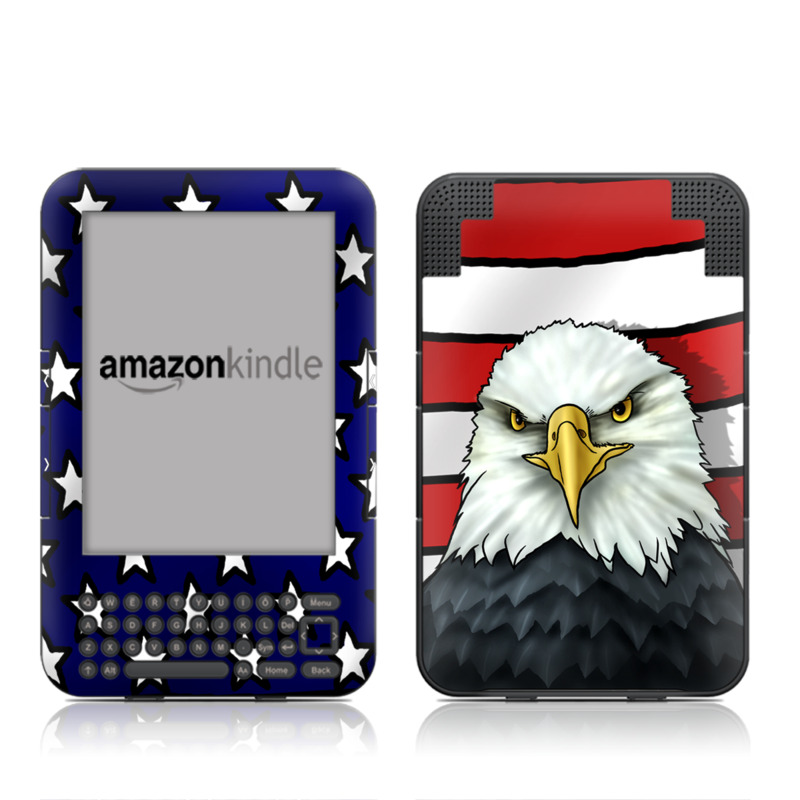 American Eagle Amazon Kindle 3 Skin