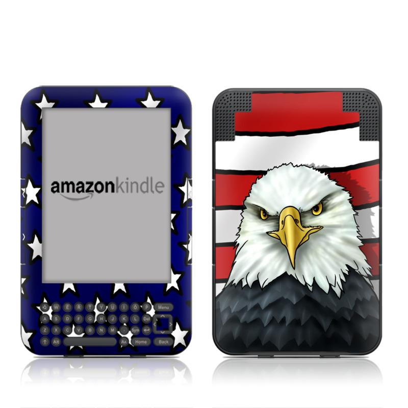 American Eagle Amazon Kindle 3 Skin