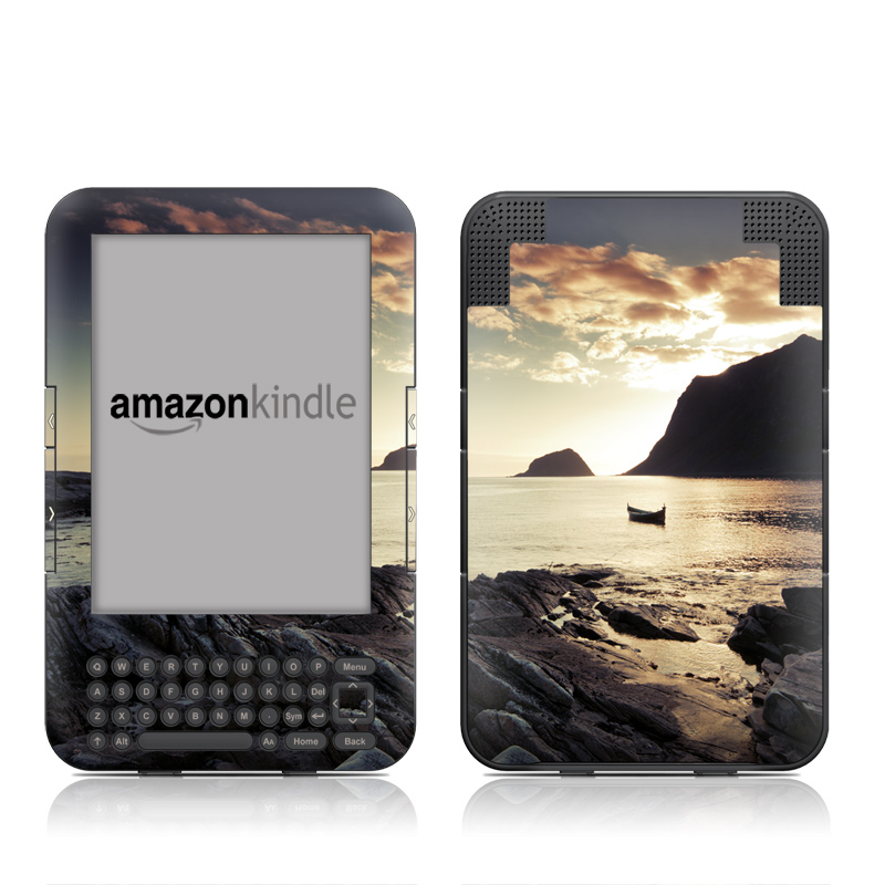 Anchored Amazon Kindle Keyboard Skin
