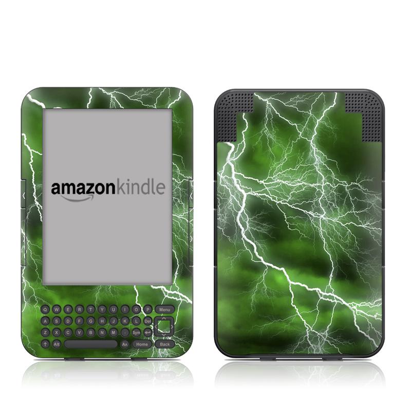 Apocalypse Green Amazon Kindle 3 Skin