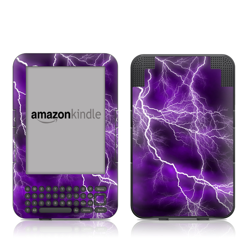 Apocalypse Violet Amazon Kindle Keyboard Skin