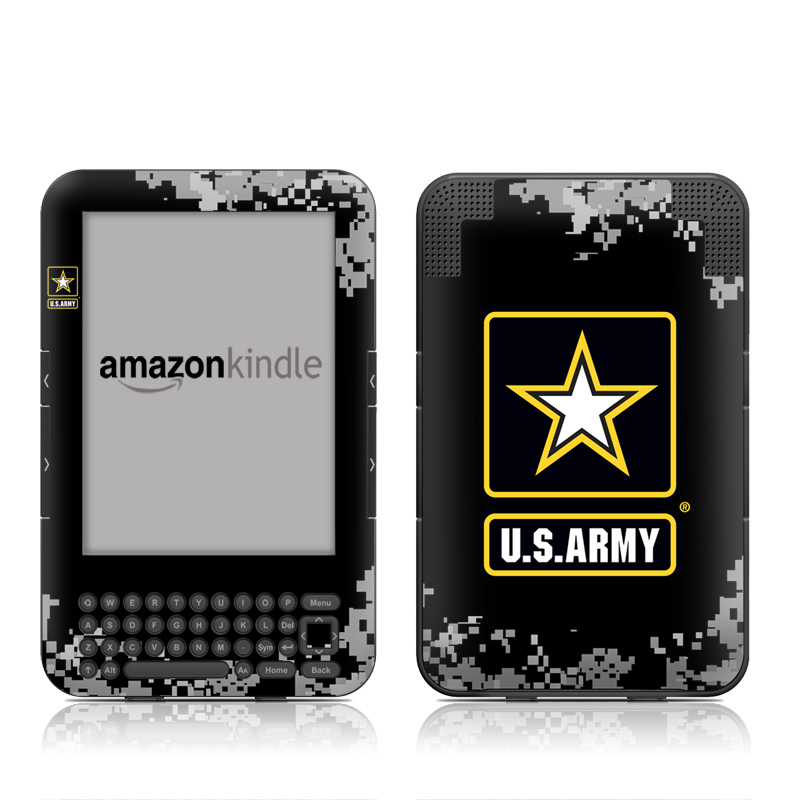 Army Pride Amazon Kindle 3 Skin