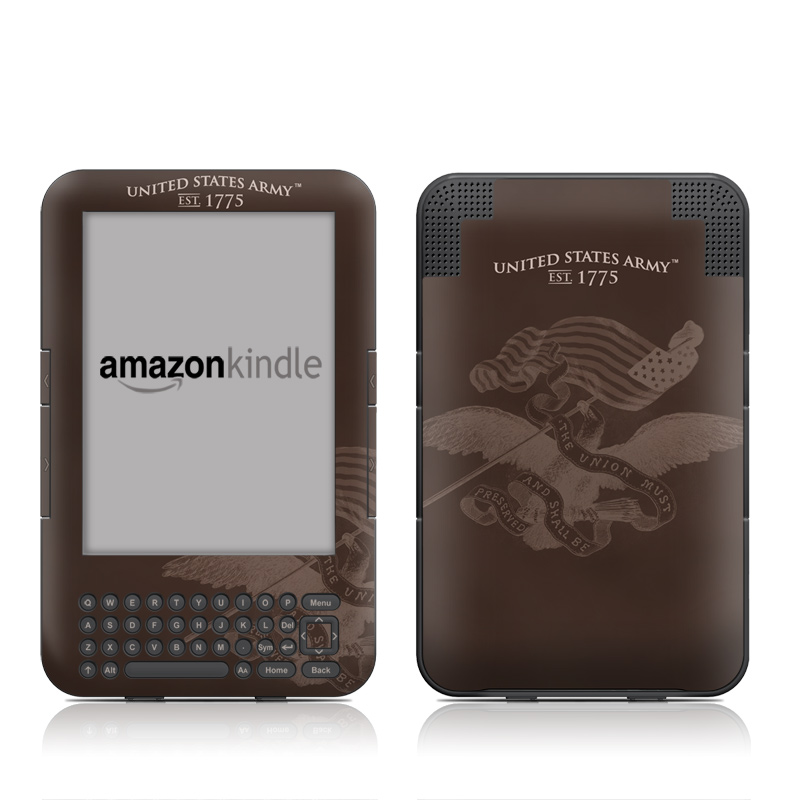 Army Preserved Amazon Kindle 3 Skin