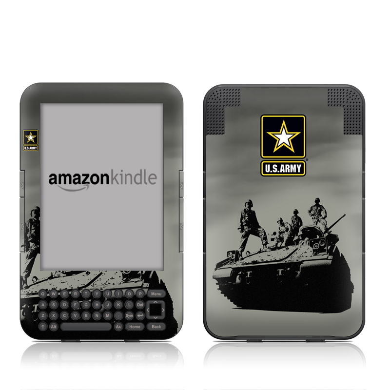 Army Troop Amazon Kindle Keyboard Skin