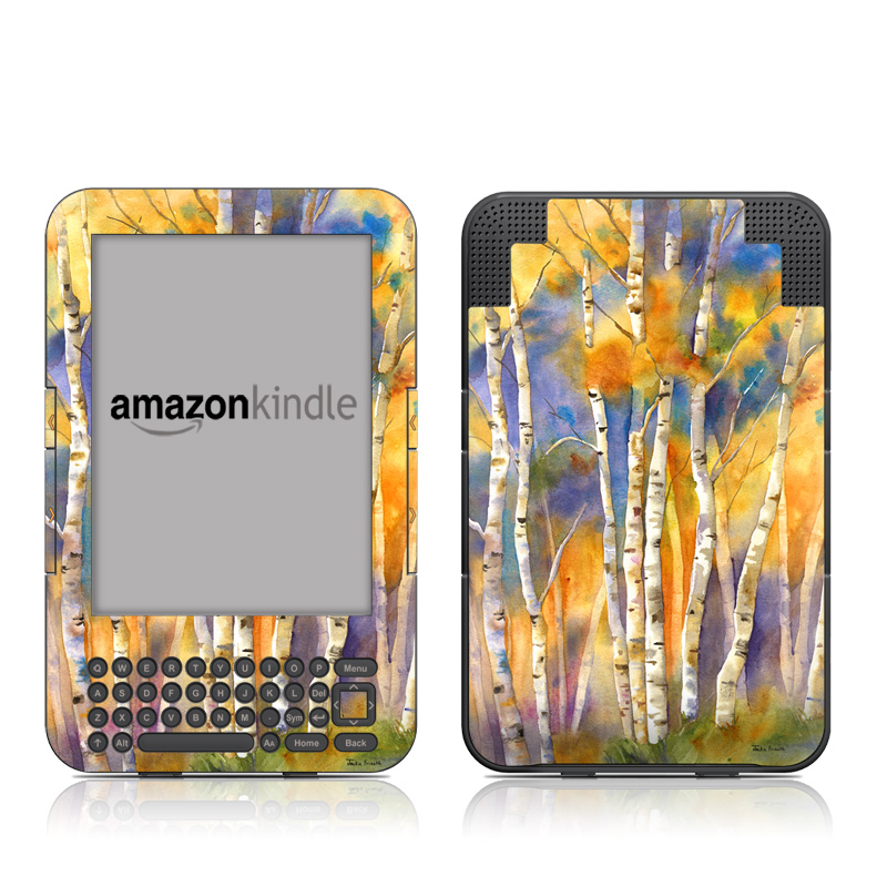 Aspens Amazon Kindle 3 Skin