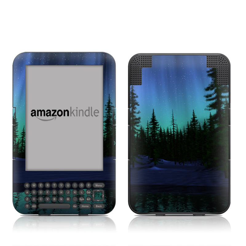 Aurora Amazon Kindle Keyboard Skin