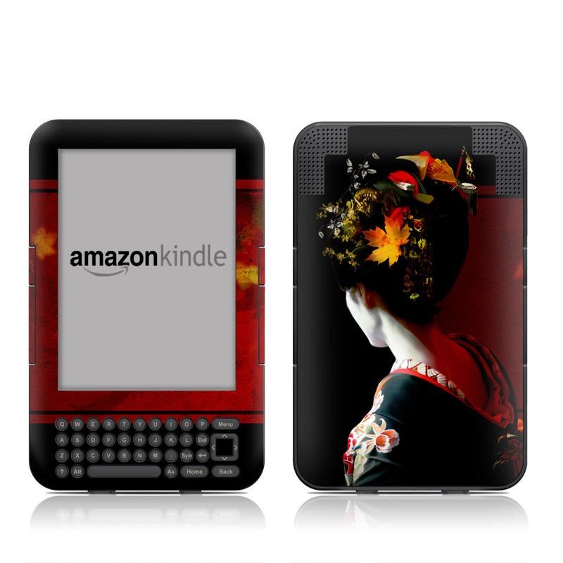Autumn Amazon Kindle Keyboard Skin