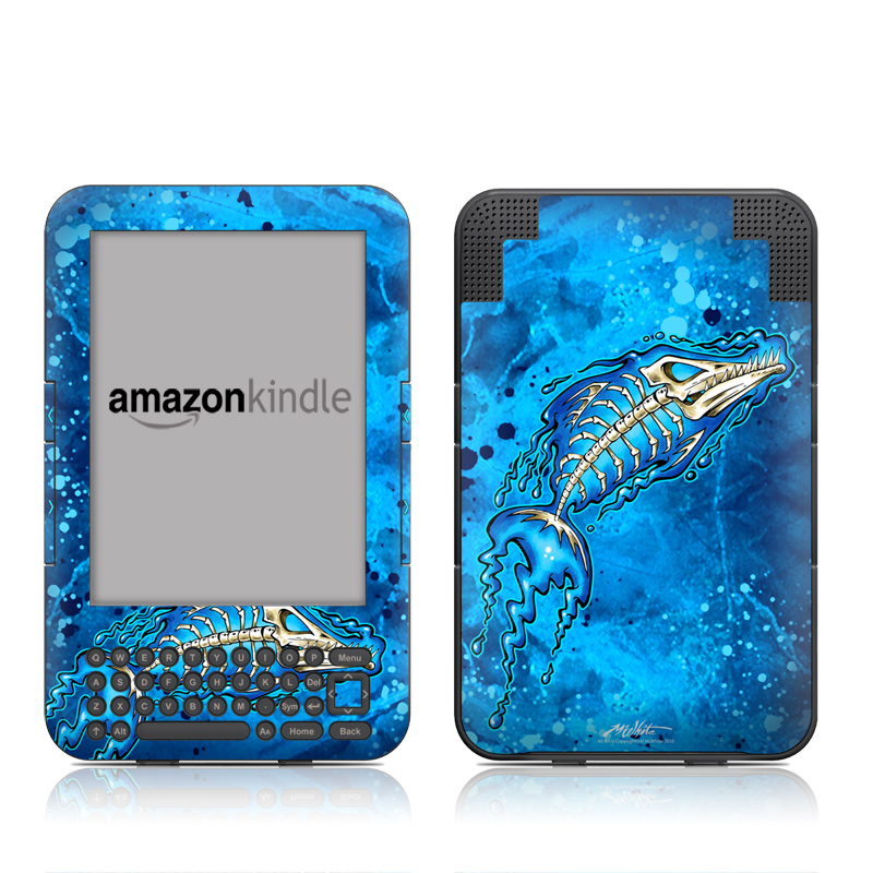 Barracuda Bones Amazon Kindle 3 Skin
