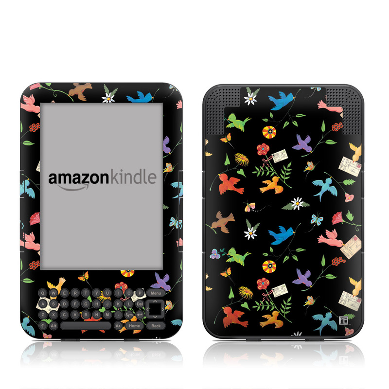 Birds Amazon Kindle Keyboard Skin