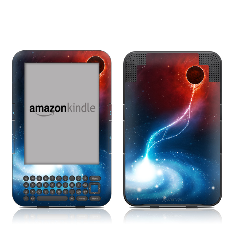 Black Hole Amazon Kindle Keyboard Skin