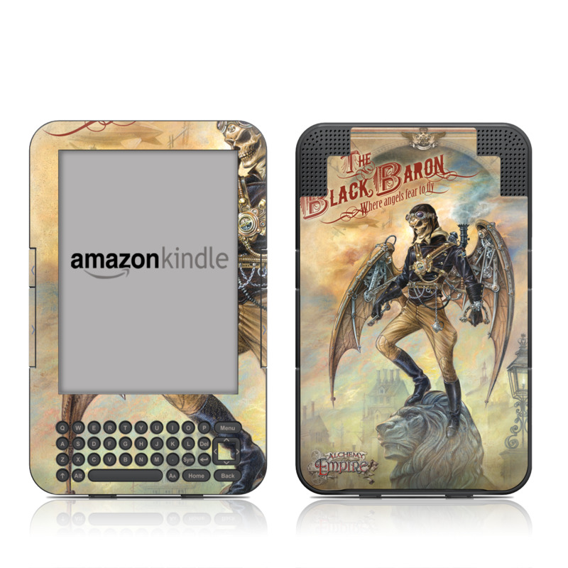 The Black Baron Amazon Kindle Keyboard Skin