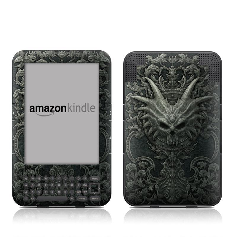 Black Book Amazon Kindle Keyboard Skin