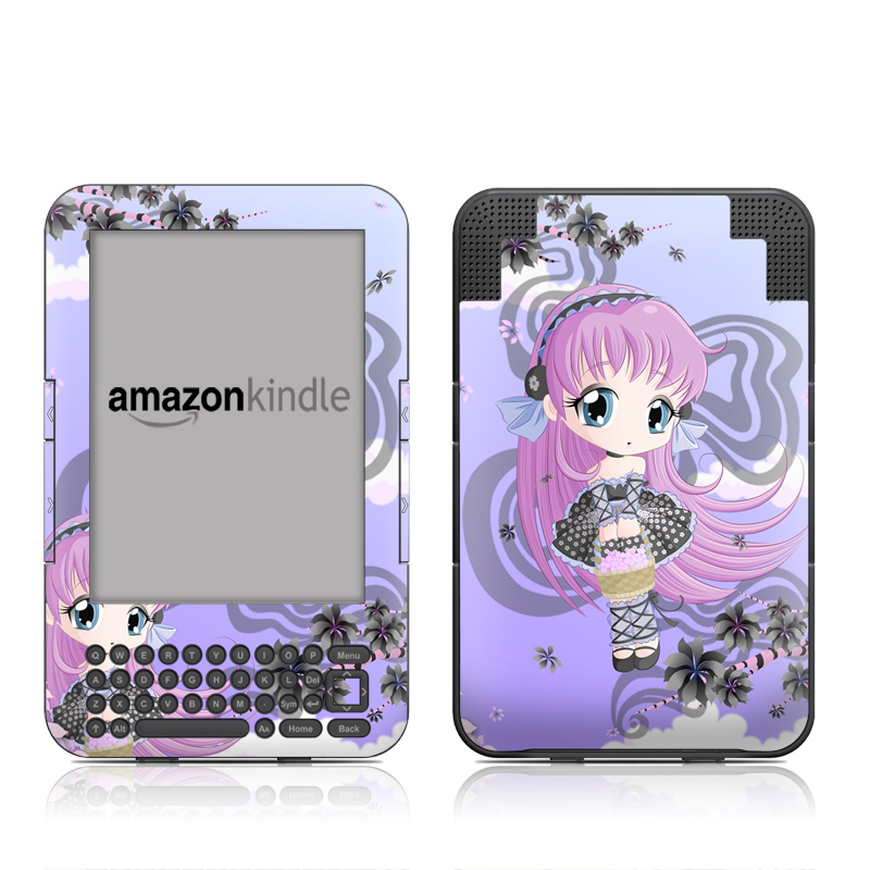 Blossom Amazon Kindle Keyboard Skin