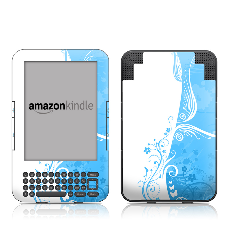 Blue Crush Amazon Kindle Keyboard Skin