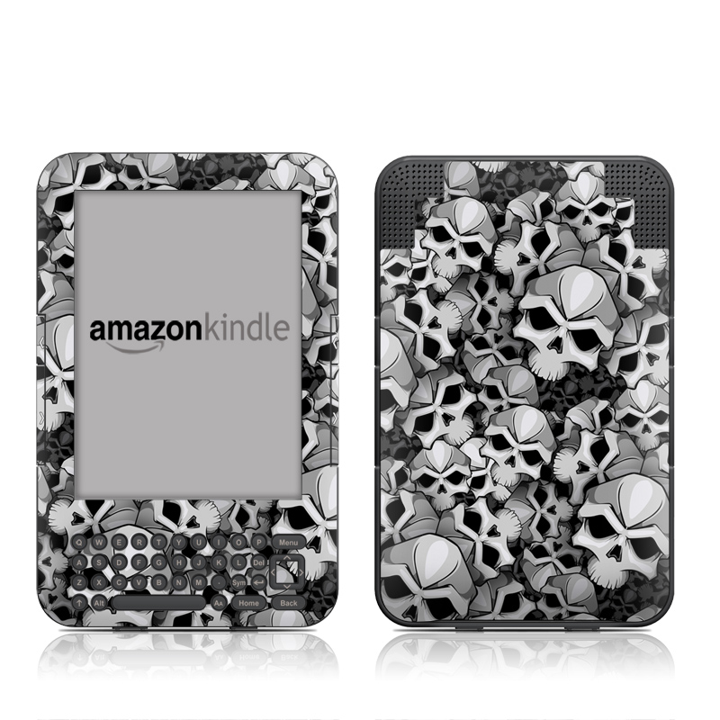Bones Amazon Kindle Keyboard Skin