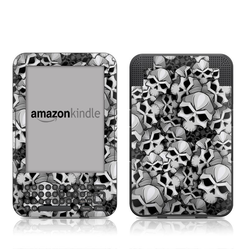Bones Amazon Kindle 3 Skin