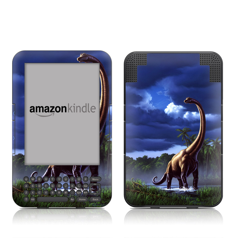 Brachiosaurus Amazon Kindle Keyboard Skin