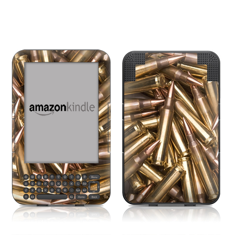 Bullets Amazon Kindle Keyboard Skin