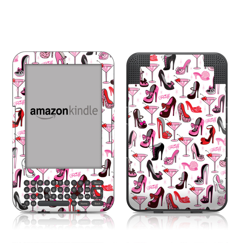 Burly Q Shoes Amazon Kindle 3 Skin