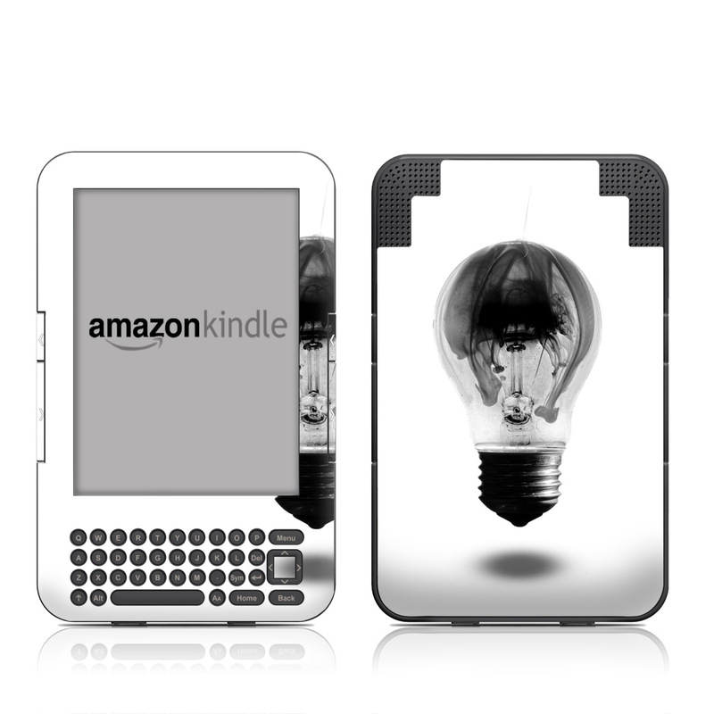 Burnt Out Amazon Kindle Keyboard Skin