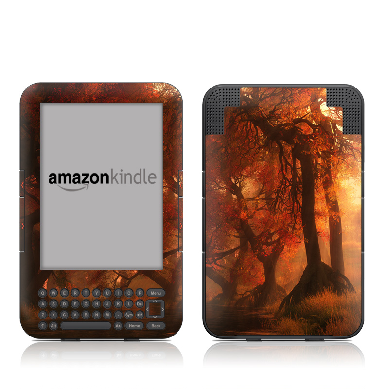 Canopy Creek Autumn Amazon Kindle 3 Skin