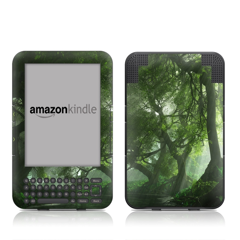 Canopy Creek Spring Amazon Kindle Keyboard Skin