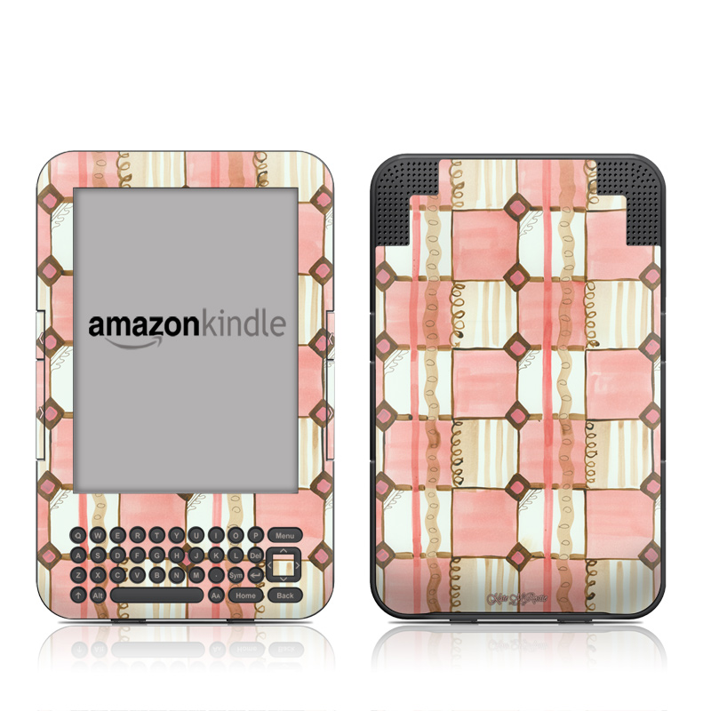 Chic Check Amazon Kindle Keyboard Skin