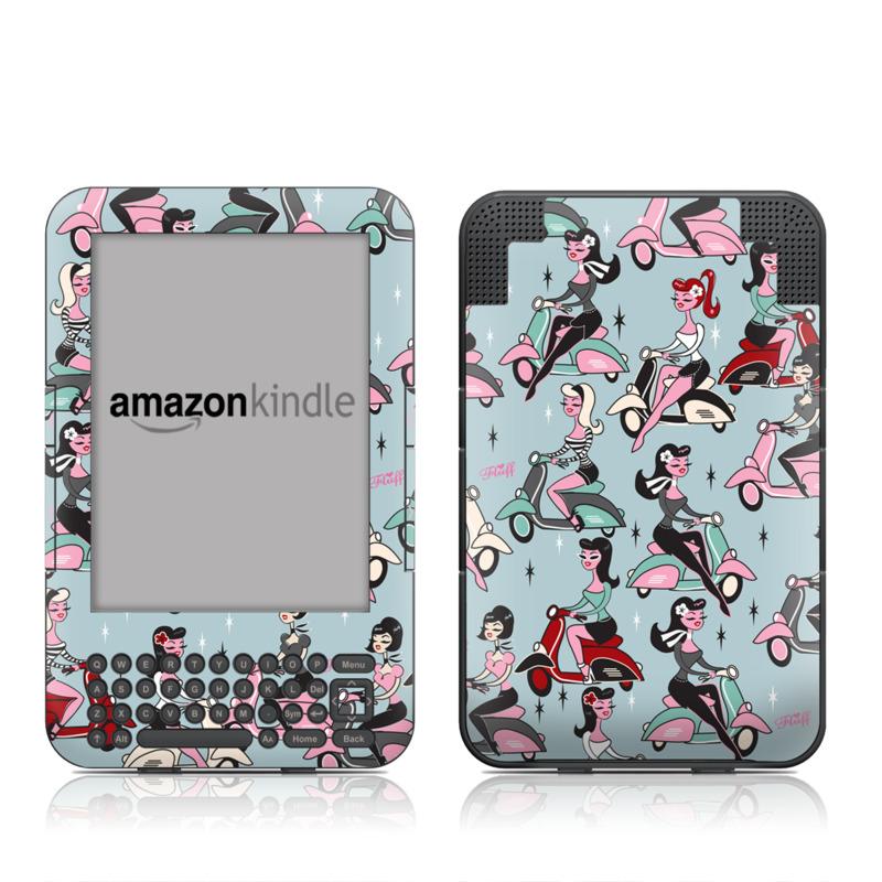 Ciao Fluff Amazon Kindle 3 Skin