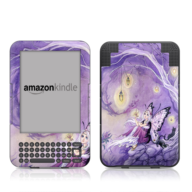 Chasing Butterflies Amazon Kindle Keyboard Skin