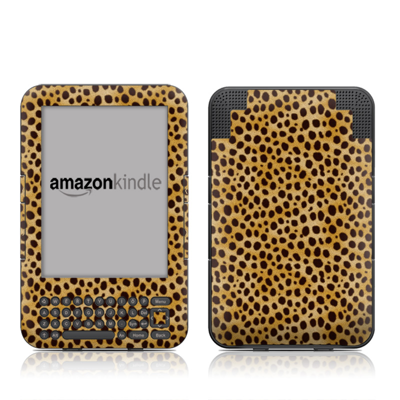 Cheetah Amazon Kindle 3 Skin