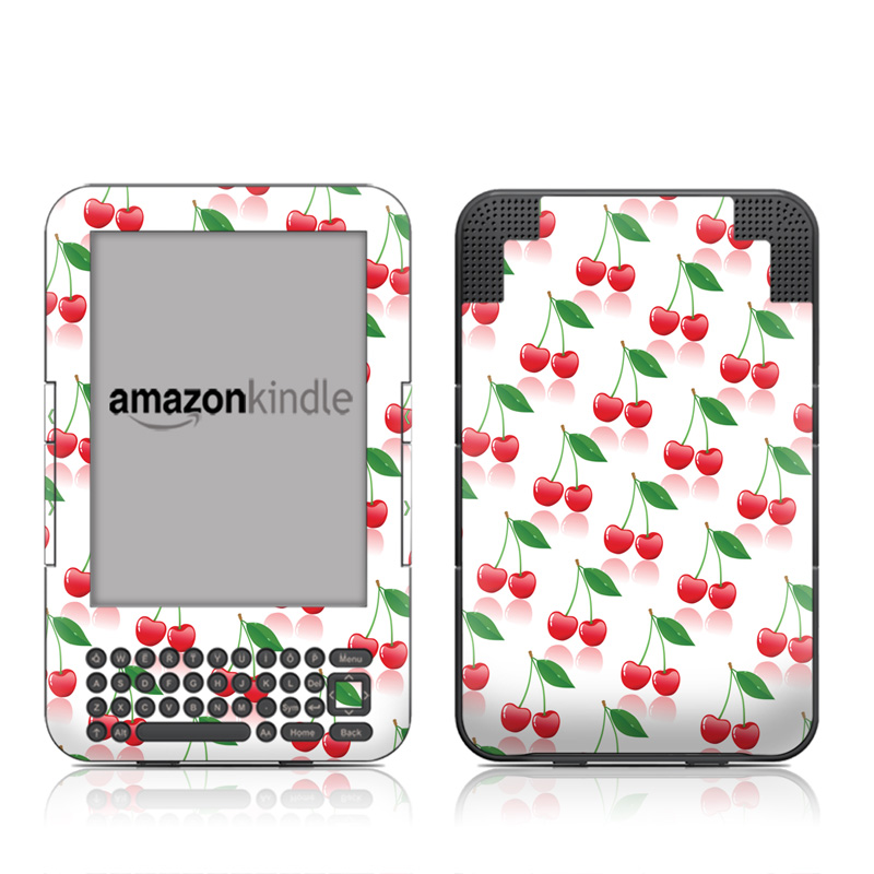 Cherry Amazon Kindle Keyboard Skin