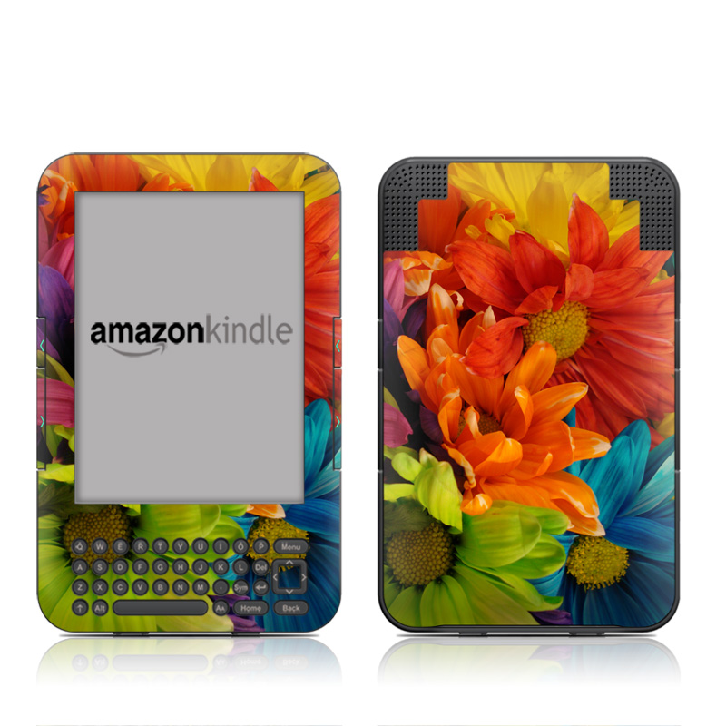 Colours Amazon Kindle 3 Skin