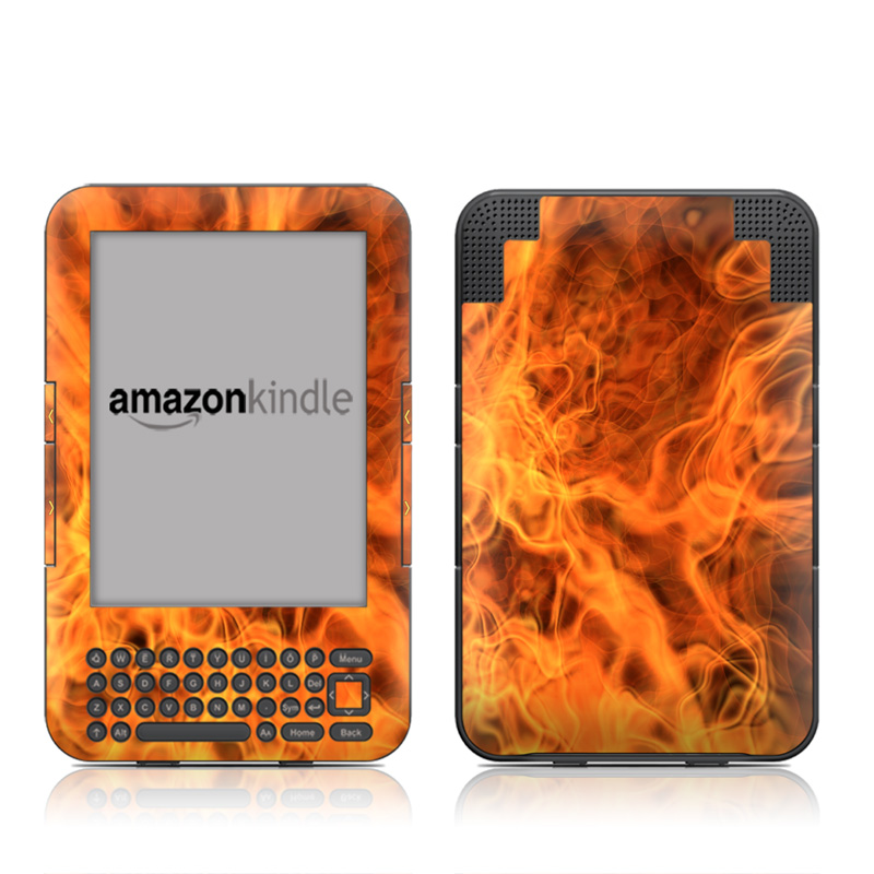 Combustion Amazon Kindle Keyboard Skin