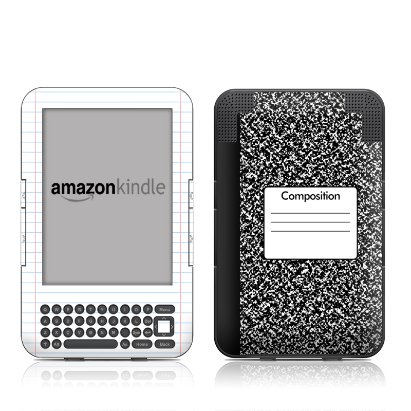 Composition Notebook Amazon Kindle Keyboard Skin
