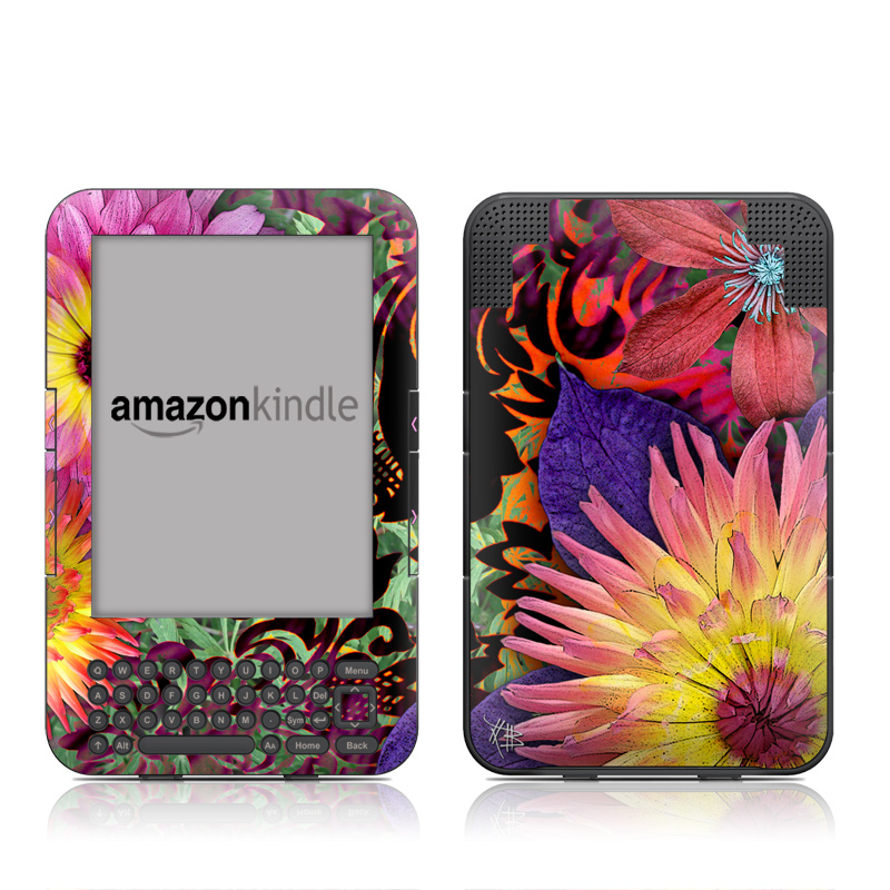 Cosmic Damask Amazon Kindle 3 Skin