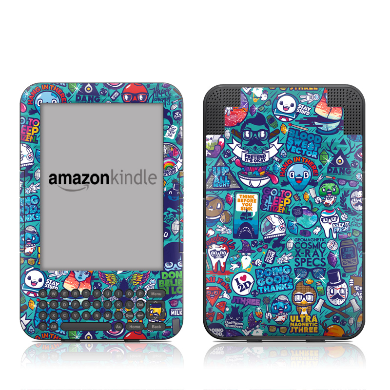 Cosmic Ray Amazon Kindle 3 Skin
